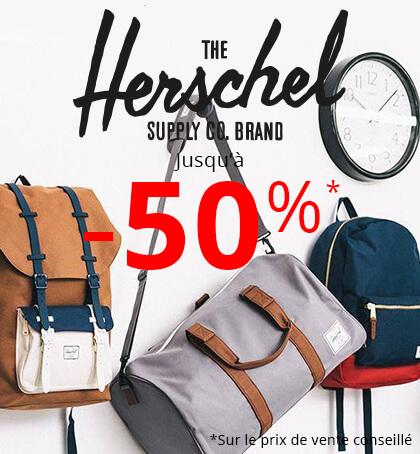Herschel jusqu'à -50% chez Rayon d'or