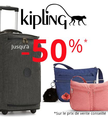 KIPLING OUTLET 50%
