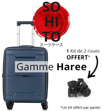 Sohito gamme Haree 1 kit de roues offert