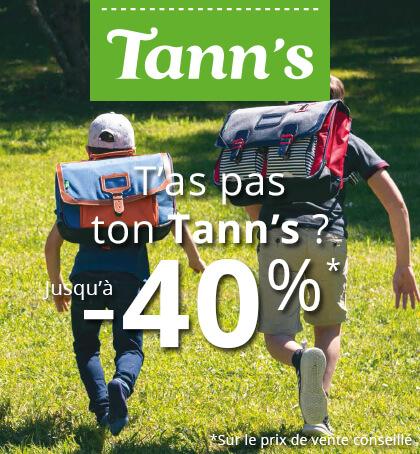 Tann's outlet jusqu'à -40%